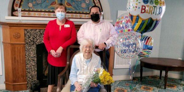 Ann DeNapoli turns 103
