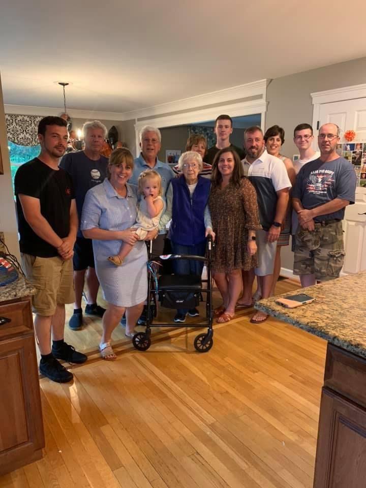 Ann DeNapoli with her family